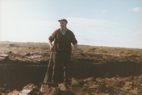 Peter Boyle Irish Donegal Turfcutter